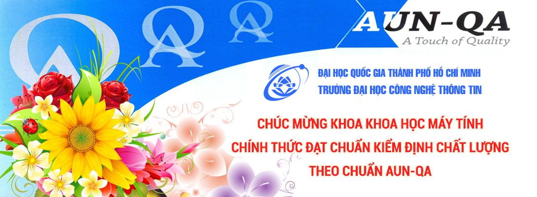 Chúc mừng khoa KHMT chính thức đạt chuẩn kiểm định chất lượng AUN-QA