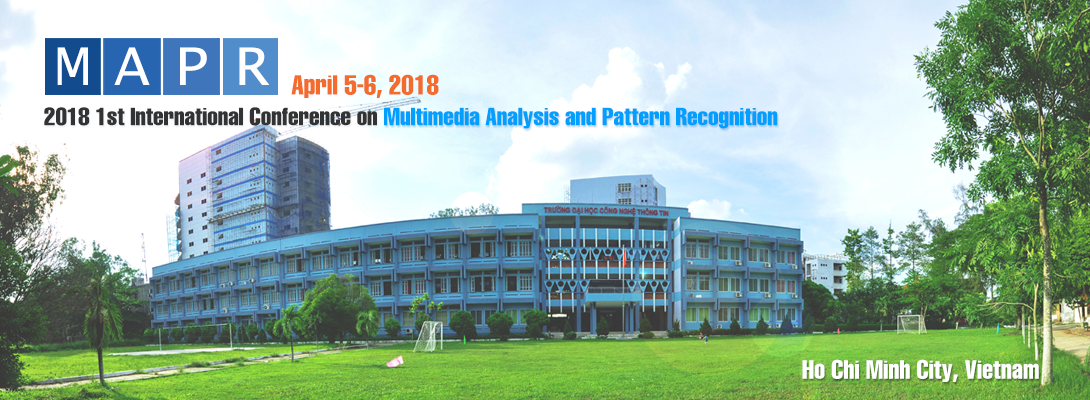 2018 1st International Conference on Multimedia Analysis and Pattern Recognition