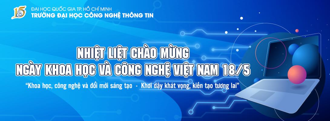 Nhiệt liệt chào mừng ngày Khoa học và Công nghệ Việt Nam 18/5
