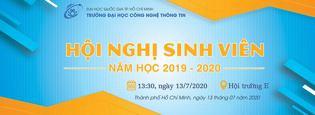 Hội nghị sinh viên năm học 2019-2020