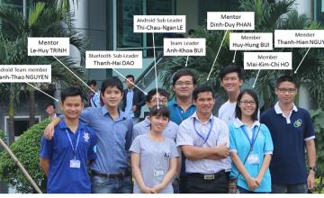 Sinh viên Trường Đại học Công nghệ Thông tin xuất sắc giành giải nhất cuộc thi International STM32 Nucleo IoT Contest năm 2016