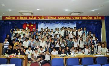 Sinh viên Trường ĐH Công nghệ Thông tin giao lưu cùng sinh viên Nhật Bản