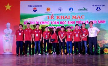 Sinh viên UIT đạt 1 giải Ba và 1 giải Khuyến khích cuộc thi Olympic Toán sinh viên toàn quốc năm 2017