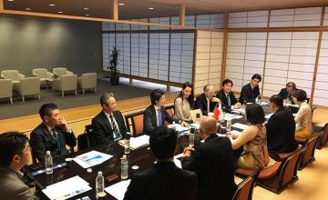 Lãnh đạo Trường ĐH CNTT công tác tại Nhật Bản