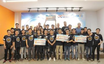 """Sinh viên UIT đạt giải Nhất và giải Ba tại Cuộc thi """"Vietnam Smart Energy Hackathon 2019"""""""