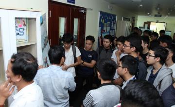 Hơn 100 sinh viên, giảng viên tham dự Ngày hội CS Open Day tại Khoa Khoa học máy tính