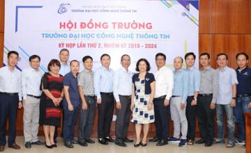 Hội đồng trường Trường ĐH Công nghệ Thông tin tổ chức phiên họp lần thứ 2