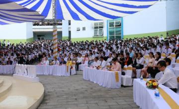 Hơn 1500 tân sinh viên tham dự lễ khai giảng năm học 2020-2021