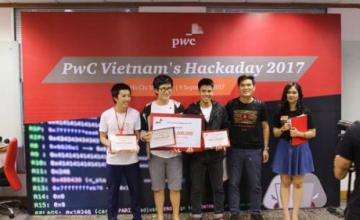 """Sinh viên UIT đã xuất sắc giành giải nhất cuộc thi """"HackaDay 2017"""""""