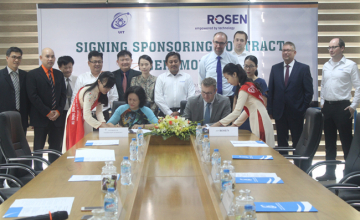 Khánh thành phòng Nghiên cứu - Phát triển ROSEN tại trường ĐH CNTT