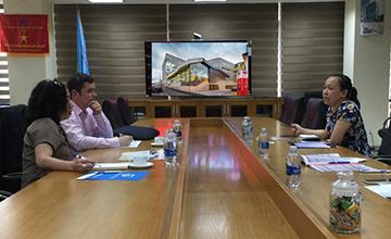 Trường ĐH Công nghệ Thông tin gặp gỡ và trao đổi hợp tác với Trường ĐH Tasmania