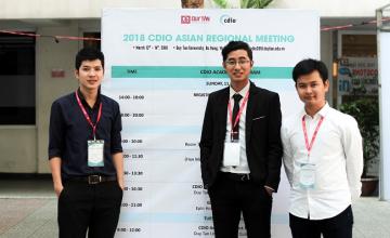 Sinh viên khoa Kỹ thuật Máy tính giành giải Nhì cuộc thi CDIO Academy