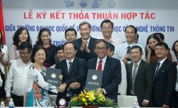 Trường ĐH Công nghệ Thông tin và Trường ĐH Quốc Tế hợp tác đào tạo