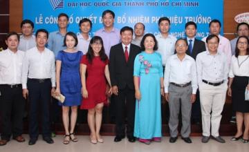Lễ công bố quyết định bổ nhiệm  Phó Hiệu trưởng của Trường Đại học Công nghệ Thông tin