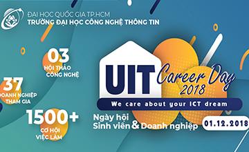 Cùng chờ đón UIT Career day 2018