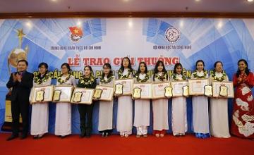 Công bố 20 gương mặt Nữ sinh viên xuất sắc nhận Phần thưởng Nữ sinh viên tiêu biểu năm 2018