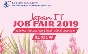 Thông tin ngày hội việc làm tại Nhật Bản - Japan IT job fair 2019