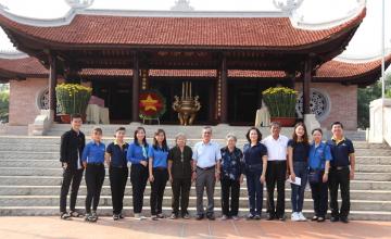 Tuổi trẻ UIT thăm căn cứ Thành Đoàn những ngày giáp Tết 2020