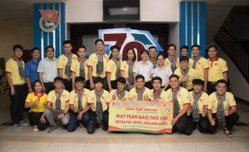 Sinh viên UIT Phan Nhựt Hào tham gia Hành trình Thanh niên Thành phố với biển đảo Tổ Quốc 2020