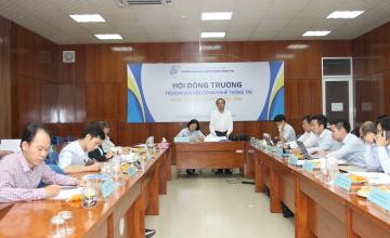 Kỳ họp lần thứ 1, Hội đồng trường Đại học Công nghệ Thông tin, nhiệm kỳ 2019-2020