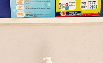 Trang bị dung dịch rửa tay tại các phòng học phòng ngừa dịch nCoV
