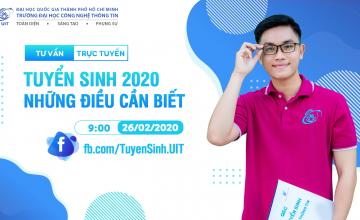 Chương trình tư vấn tuyển sinh trực tuyến 2020