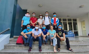 Thầy cô UIT chung tay ký túc xá ĐHQG làm khu cách ly phòng chống COVID-19