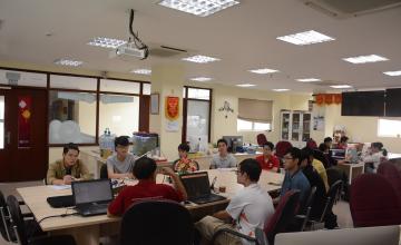 Khóa học CEH do Trung tâm an ninh mạng CNSC tổ chức chính thức khai giảng tại Phòng thí nghiệm An toàn thông tin - UIT