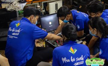 MHX 2020 - Đội hình Máy tính cũ - Tri thức mới vẫn tiếp tục công tác thu gom và tái sử dụng linh kiện máy tính cũ