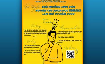 Giải thưởng sinh viên nghiên cứu khoa học Eureka – Lần thứ 22 năm 2020