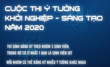 TB - Thể lệ cuộc thi Ý tưởng khởi nghiệp - sáng tạo năm 2020