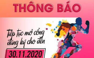Tiếp tục mở cổng đăng ký VNU Will Run 2020