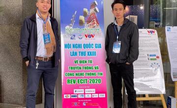 Sinh viên UIT trình bày bài báo khoa học tại Hội nghị Quốc gia lần thứ 23 về Điện tử, Truyền thông và Công nghệ thông tin