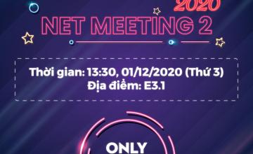 Net Challenge 2020 - Meeting 2