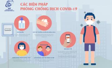 Sinh viên UIT vui xuân đón Tết nhưng vẫn không quên đảm bảo an toàn sức khỏe cho bản thân và cộng đồng