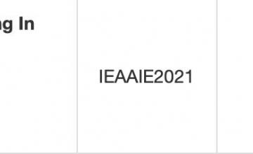 Nhóm sinh viên UIT được chấp nhận bài báo tại hội nghị khoa học IEA / AIE 2021