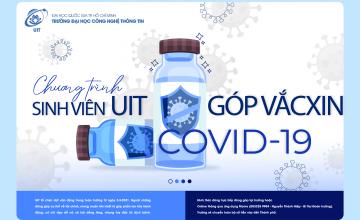 Sinh viên trường Đại học Công nghệ Thông tin góp hơn 6.500.000 vào quỹ Vắcxin Covid-19