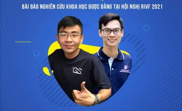 """Chúc mừng bài báo khoa học """"Deep learning Approach for Vietnamese Receipts OCR"""" được chấp nhận đăng tại Hội nghị khoa học RIVF 2021"""