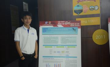 Chàng sinh viên Cao Phan Xuân Quí với đam mê nghiên cứu khoa học