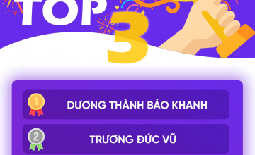 TOP 3 THI THỬ TOEIC