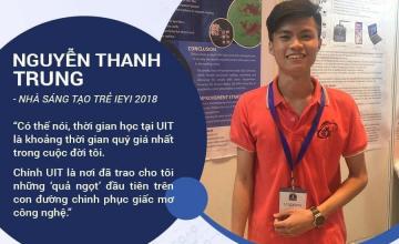 UITtalk gặp gỡ nhà sáng tạo trẻ Nguyễn Thanh Trung
