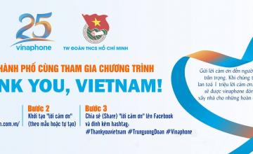 """Tuổi trẻ Thành phố cùng tham gia chương trình """"Thank you, VietNam!"""""""