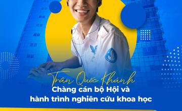 Trần Quốc Khánh chàng cán bộ Hội và hành trình nghiên cứu khoa học