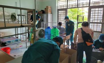 Tiếp tục đăng ký tham gia hỗ trợ dọn dẹp Ký túc xá
