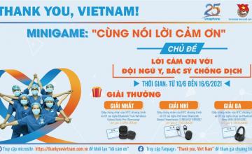 Thankyou, Việt Nam chủ đề 1: Lời cảm ơn với đội ngũ y, bác sĩ chống dịch