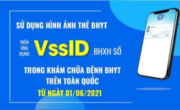 Hướng dẫn sử dụng ứng dụng VssID khi đi khám chữa bệnh thay bảo hiểm y tế giấy