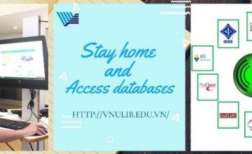 Truy cập cơ sở dữ liệu điện tử thư viện Trung tâm Đại học Quốc gia