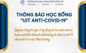 Cuộc họp đột xuất & quyết định kịp thời giữa Đại dịch Covid-19 - Thông điệp nhân văn, giá trị sâu sắc từ Quỹ UIT Anti-Covid-19