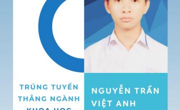 Proud to be UITer - Nguyễn Trần Việt Anh nhận học bổng 160.000.000 đồng