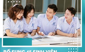 Bổ sung 45 sinh viên được gia hạn học phí học kỳ 1 năm học 2021-2022, nâng tổng số sinh viên được gia hạn lên 2.461 sinh viên